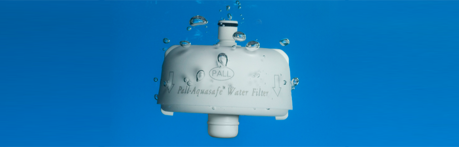 Eliminatie Watergedragen Infectierisico - Point of Use Waterfilters  - PALL Aquasafe 31 dagen en QPoint 62 dagen